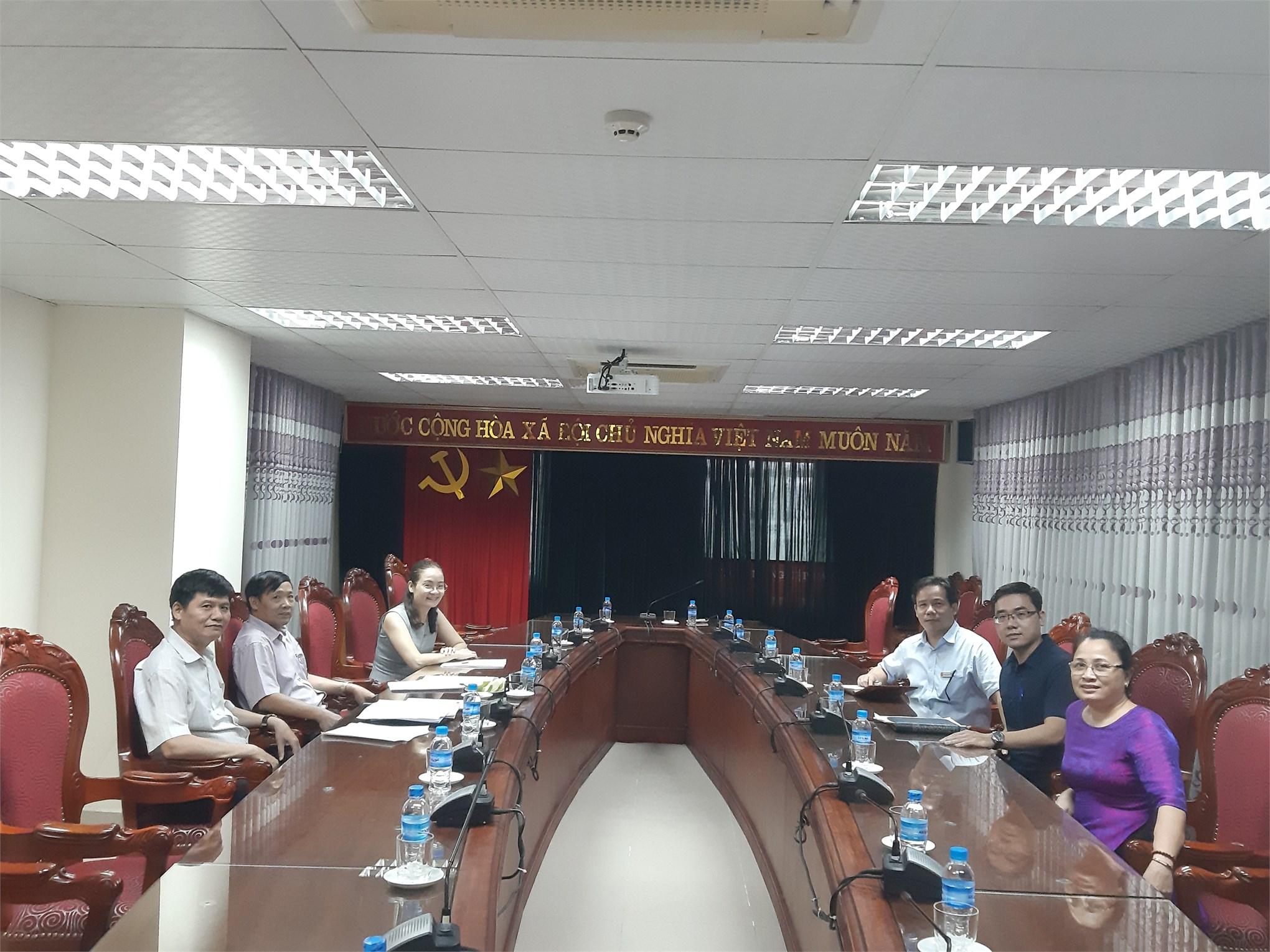 Trung tâm đào tạo Sau đại học, Tổ chức Hội nghị công chức, viên chức, người lao động. Tổng kết năm học 2018-2019 và triển khai nhiệm vụ năm học 2019-2020.