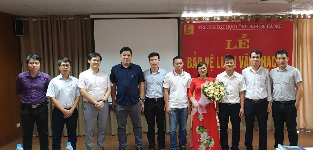 Tổ chức Lễ bảo vệ luận văn thạc sĩ – ngành Kỹ thuật Điện cho học viên Cao học khóa 8 đợt 1 (2018-2020)