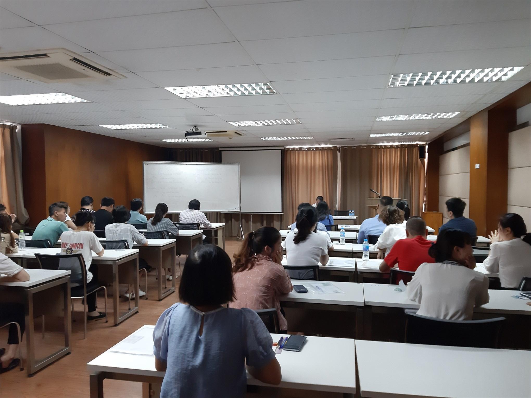 Tổ chức kỳ thi tuyển sinh đào tạo trình độ thạc sĩ đợt 1 năm 2020 trường Đại học Công nghiệp Hà Nội.