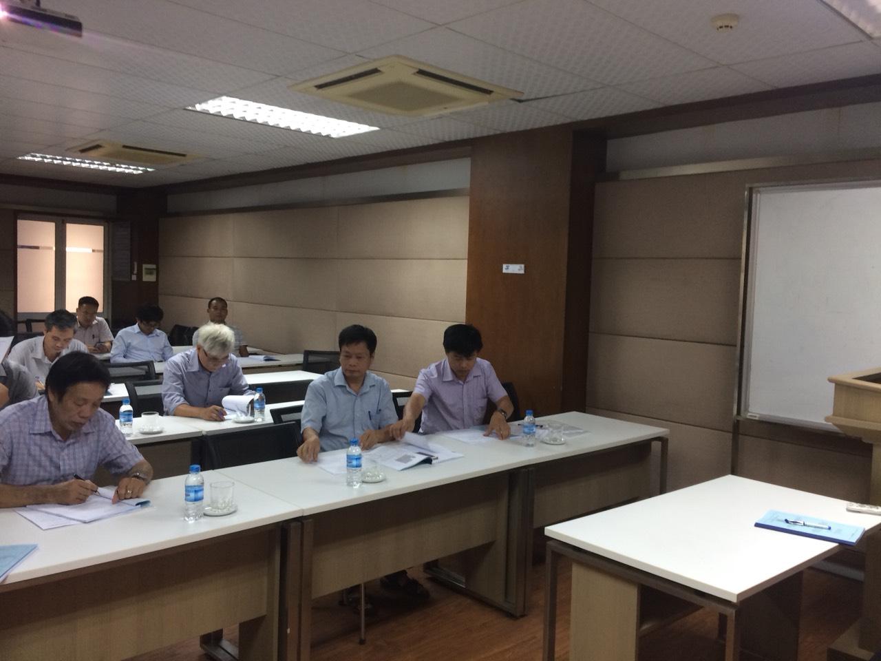 Tổ chức bảo vệ chuyên đề cho NCS Nguyễn Huy Kiên, ngành Kỹ thuật Cơ khí.