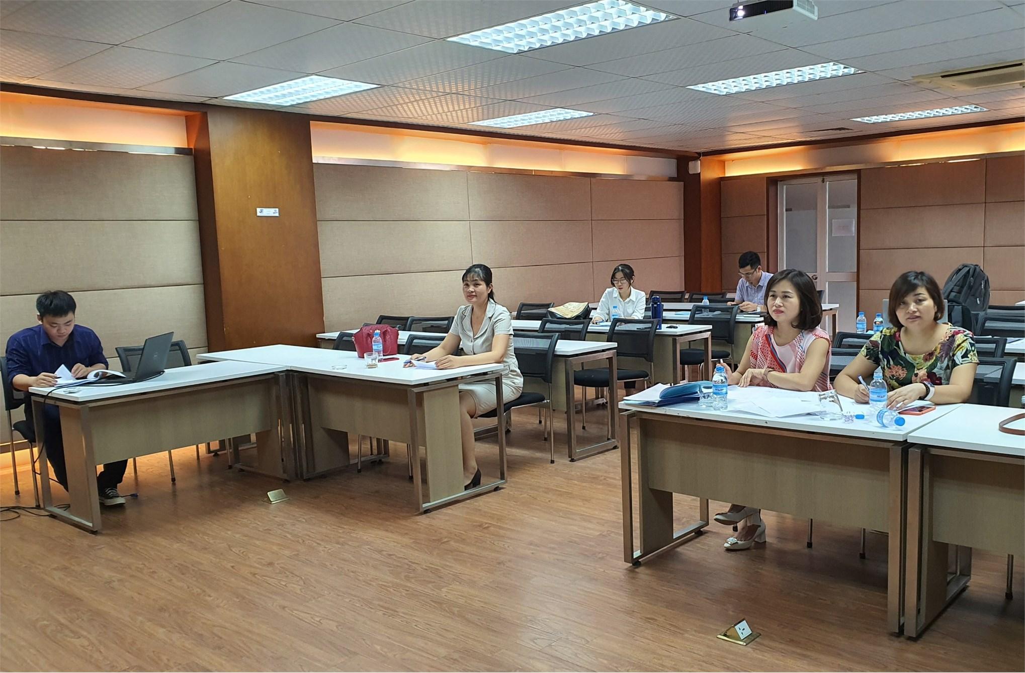 Tổ chức thẩm định đánh giá đề cương luận văn thạc sĩ ngành Kế toán – Cao học khóa 9 đợt 1 (2019-2021)