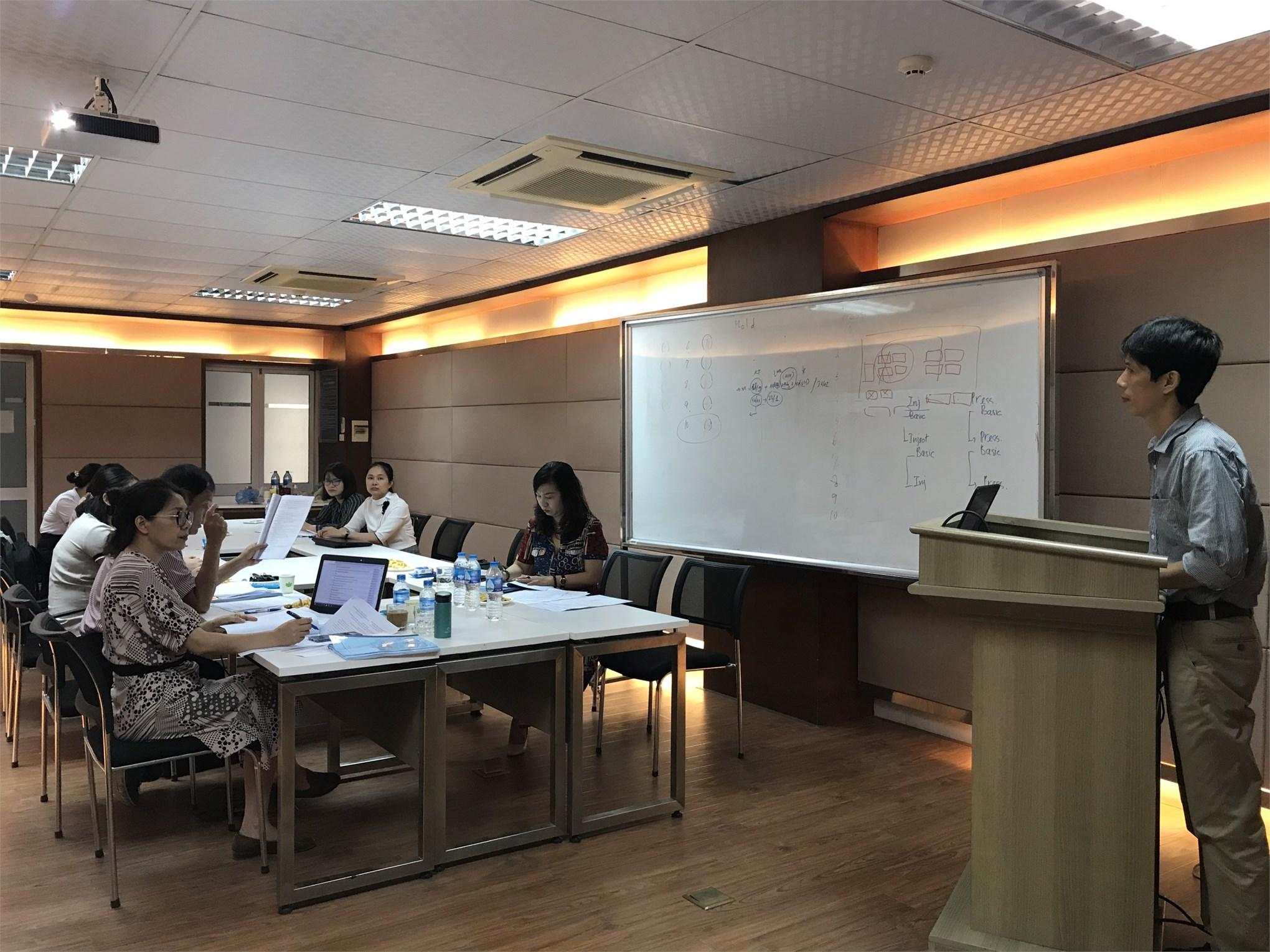 Tổ chức thẩm định đánh giá đề cương luận văn thạc- sĩ – ngành Công nghệ Dệt, may - Cao học Khóa 9 đợt 1 (2019-2021)