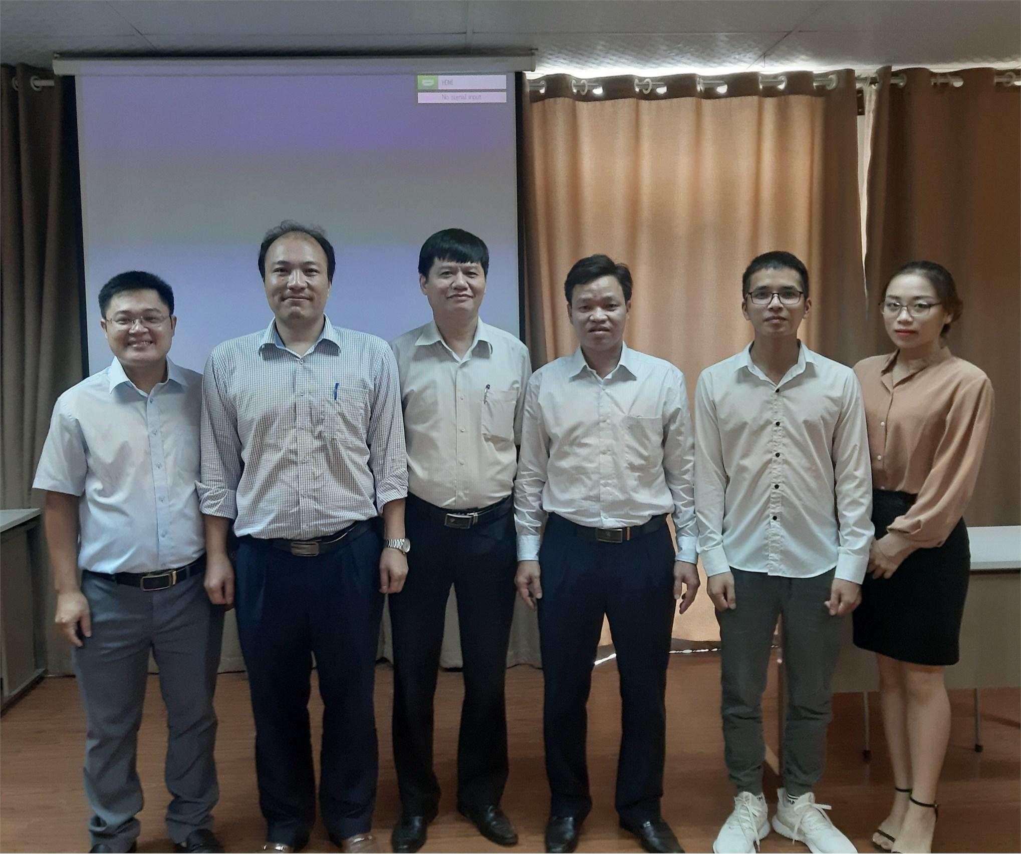Tổ chức thẩm định đánh giá đề cương luận văn thạc sĩ – ngành Kỹ thuật Điện tử - Cao học Khóa 9 đợt 1 (2019-2021)