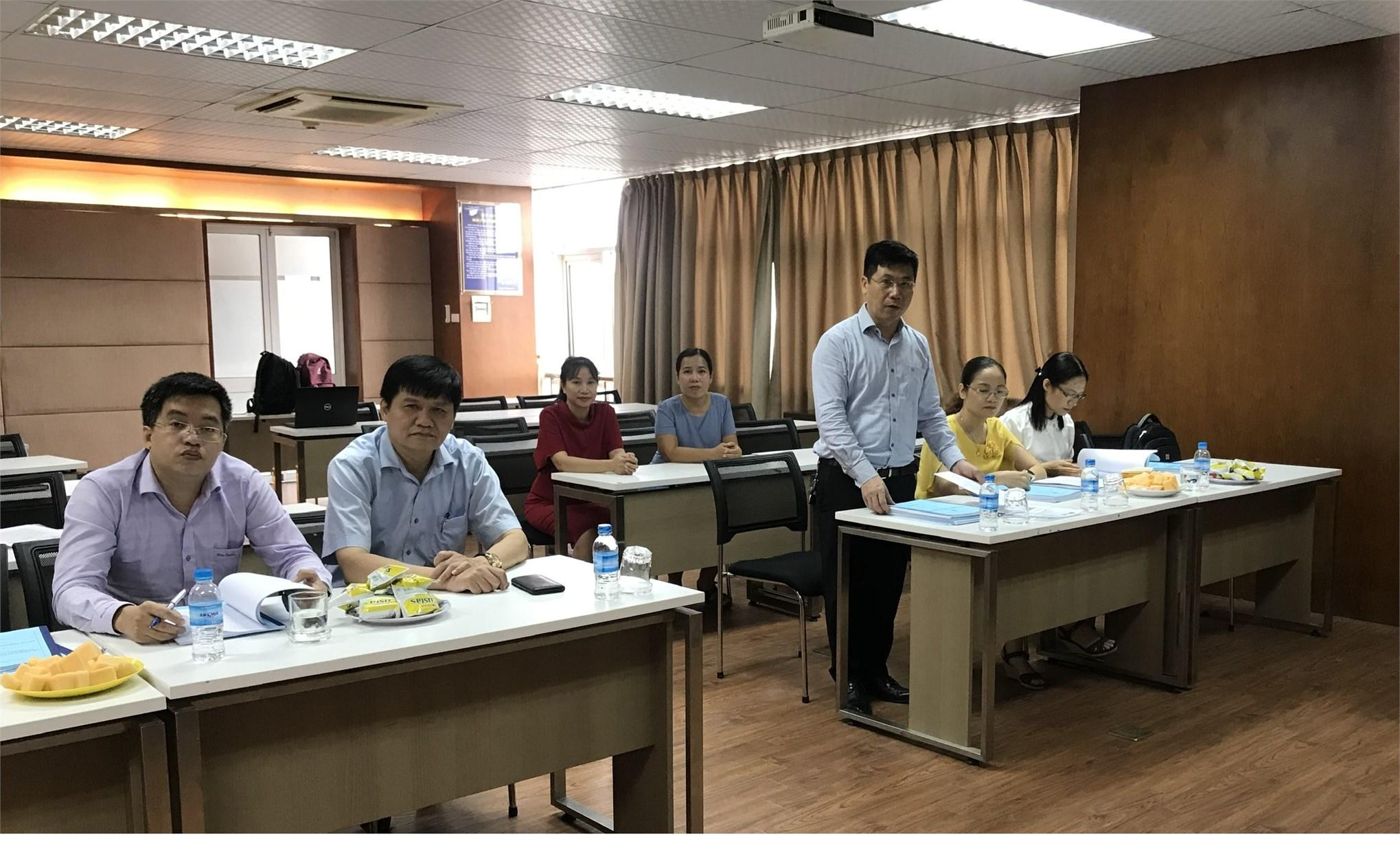 Tổ chức bảo vệ chuyên đề tiến sĩ cho NCS Vũ Thị Bích Hà và NCS Nguyễn Thị Ngọc Điệp, ngành Kế toán.