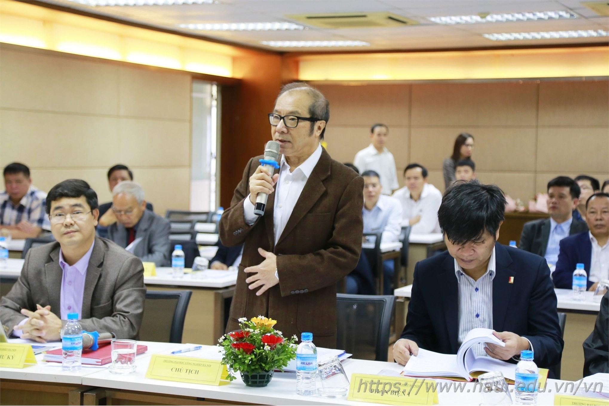 Trường Đại học Công nghiệp Hà Nội Tổ chức bảo vệ luận án tiến sĩ cấp trường cho NCS Nguyễn Văn Đức, chuyên ngành Kỹ thuật Cơ khí, mã số 9520103.