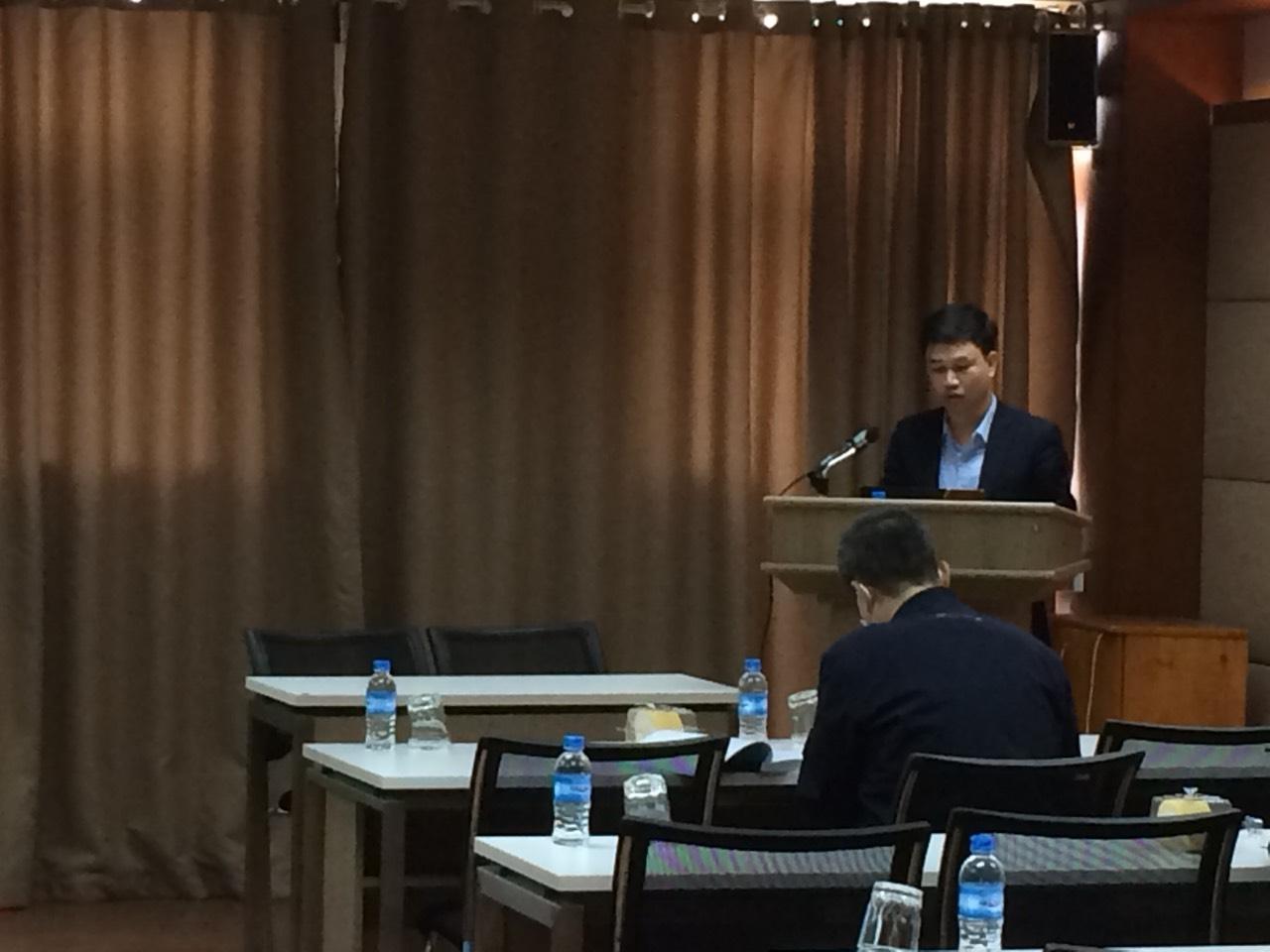 Tổ chức Hội thảo khoa học Luận án tiến sĩ cho NCS Nguyễn Văn Linh, ngành Kế toán